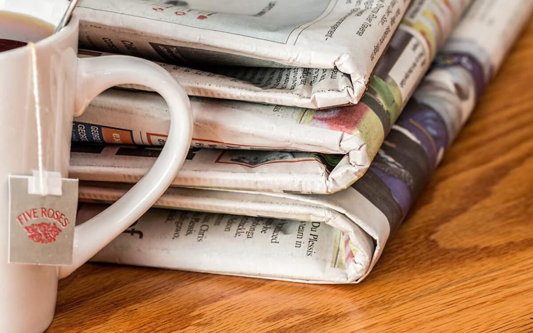 Rólunk szóltak a hírek a nyomtatott sajtóban is 2019-ben