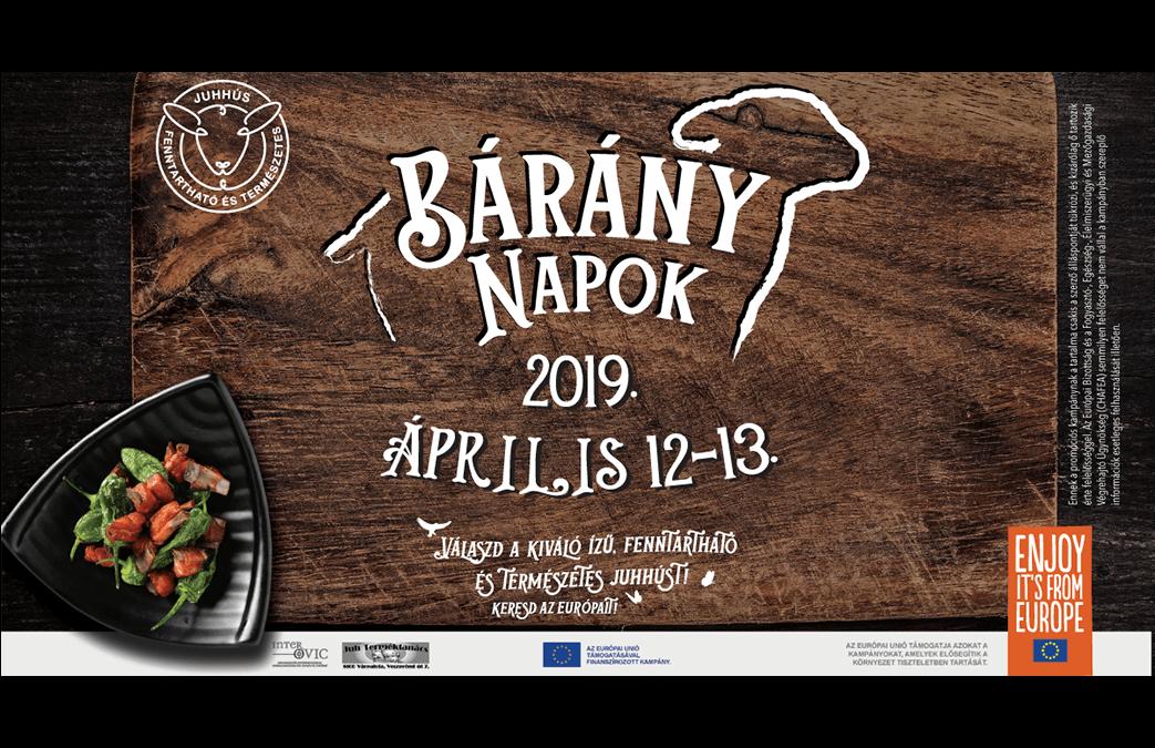 Bárány Napok 2019. április 12-13.