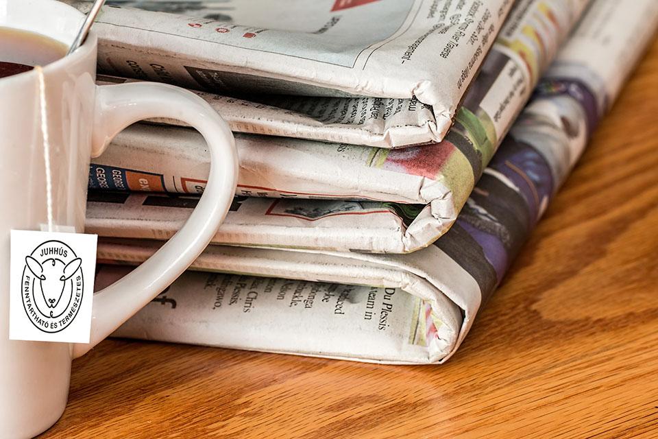 Megjelenések a nyomtatott sajtóban 2020
